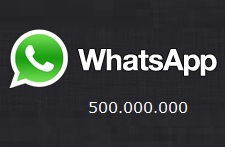 WhatsApp-500M
