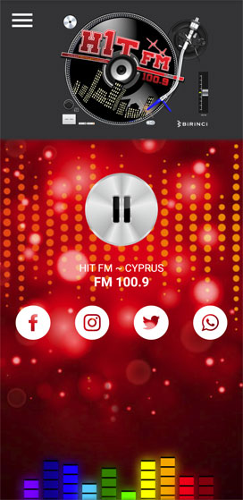 Hit FM Cyprus ~ Mobile Application