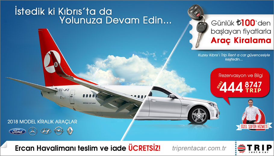kibris trip rent a car